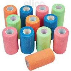 Elico Cohesive Bright Bandages 4″